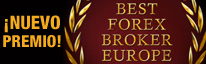 >Premios GCI best forex broker europe 2015
